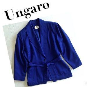 Vtg Ungaro ter blue jacket
